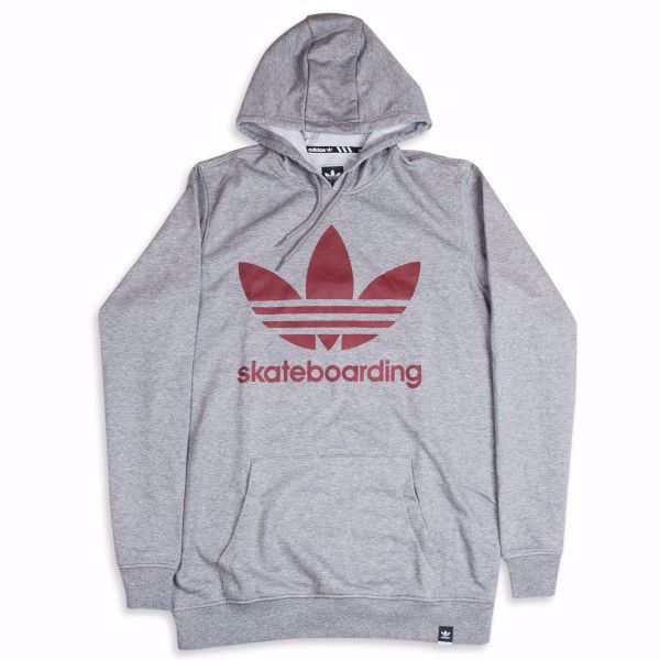Clima 3.0 Hoodie - Adidas - Heather/Mystery Red