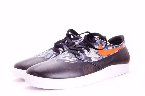 Lunar OneShot Sneaker - Nike SB - Sort/Orange