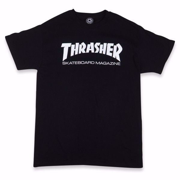 S/S Skate Mag T-Shirt - Thrasher - Black
