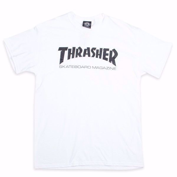 Skate Mag T-Shirt - Thrasher - White