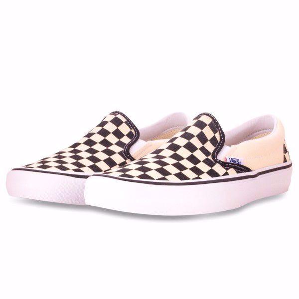 Slip-On Pro (Checkerboard) - Vans - Black/White