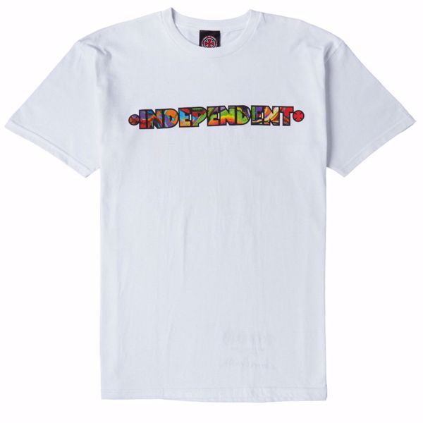 Evan Smith Trip Out Tee - Independent - White